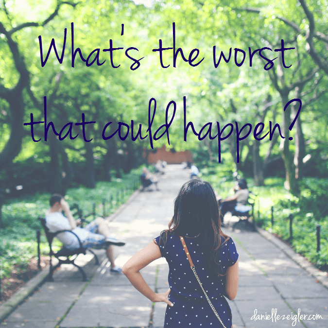 worst that could happen quote image