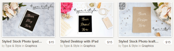 Type & Style Stock Photography