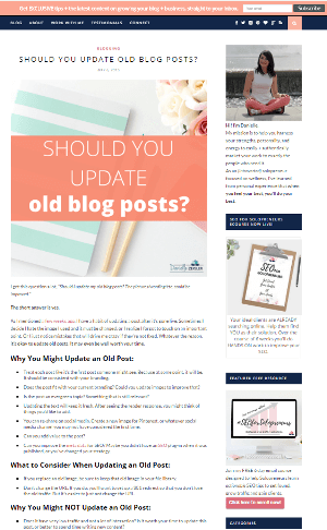 12 ways I updated this old blog post to add more value and reach more people