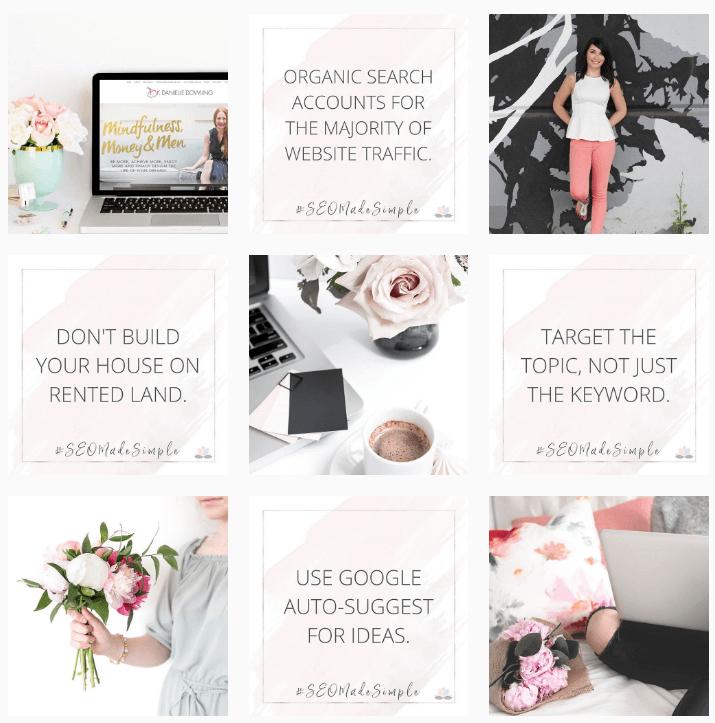 SEO Digital Marketing Instagram