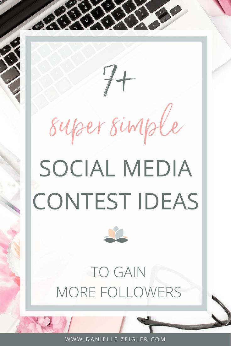 super simple social media contest ideas to gain more followers