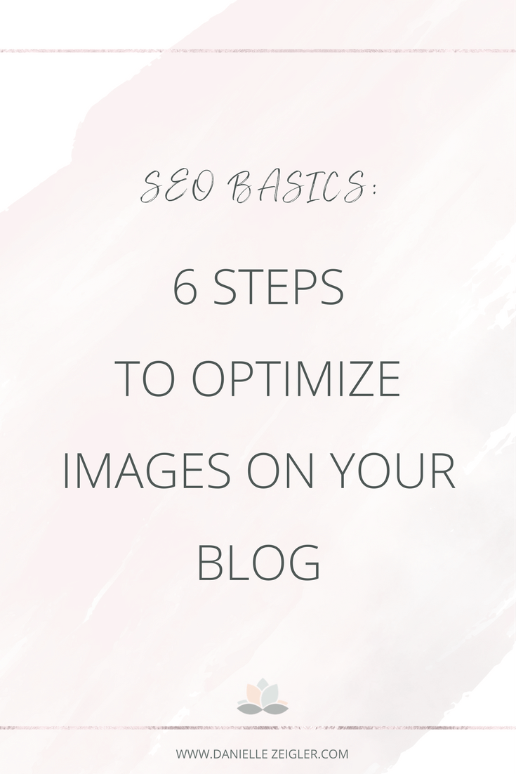 How to Optimize Images on Your Blog & Website | SEO Basics
