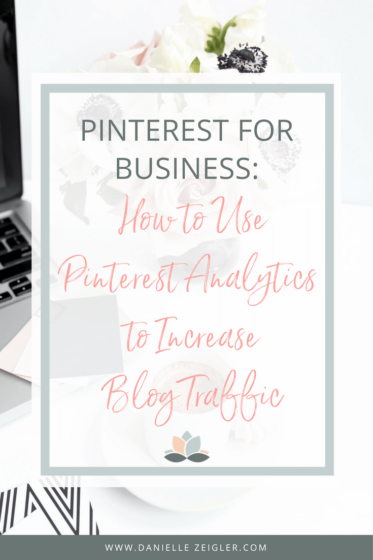 How to increase your blog traffic quickly by taking a look at your Pinterest analytics.