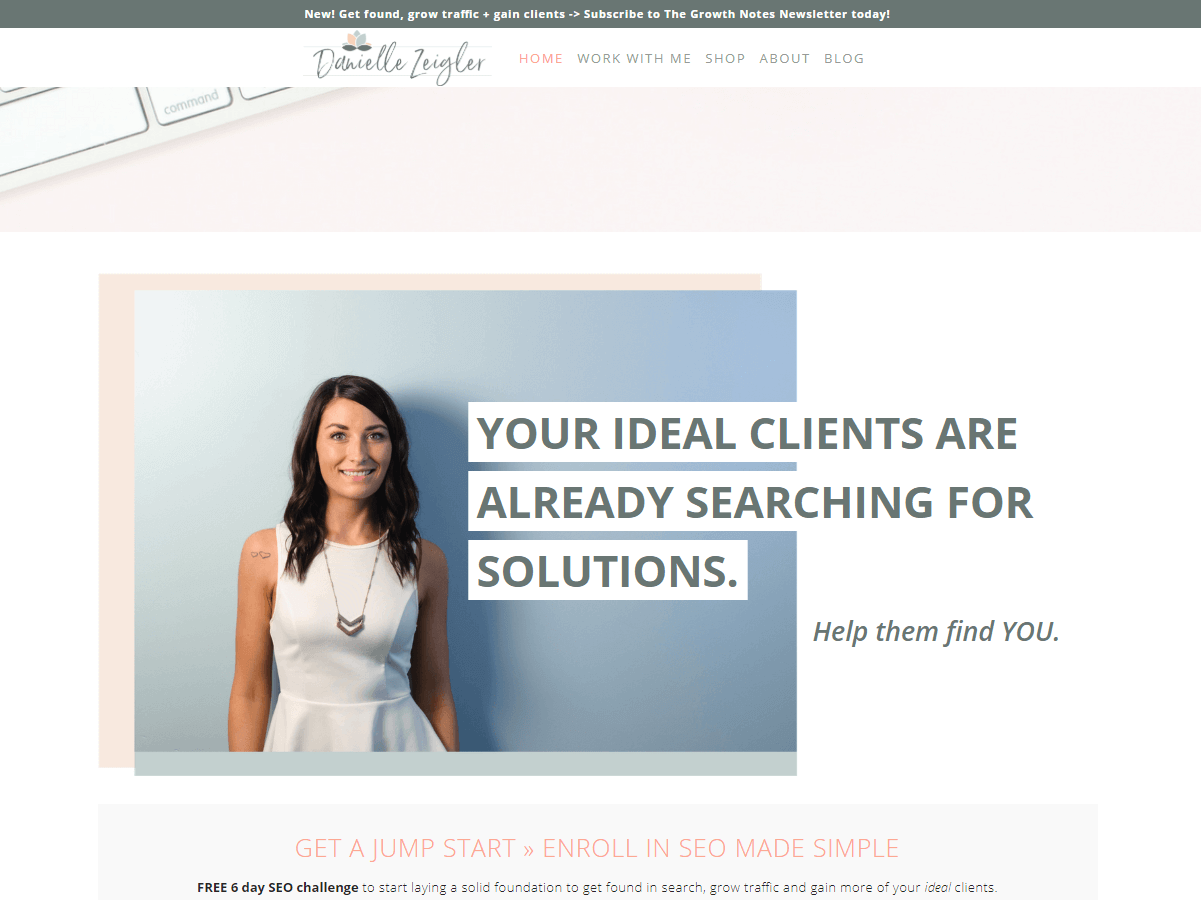 personal branding & why include your face on your homepage