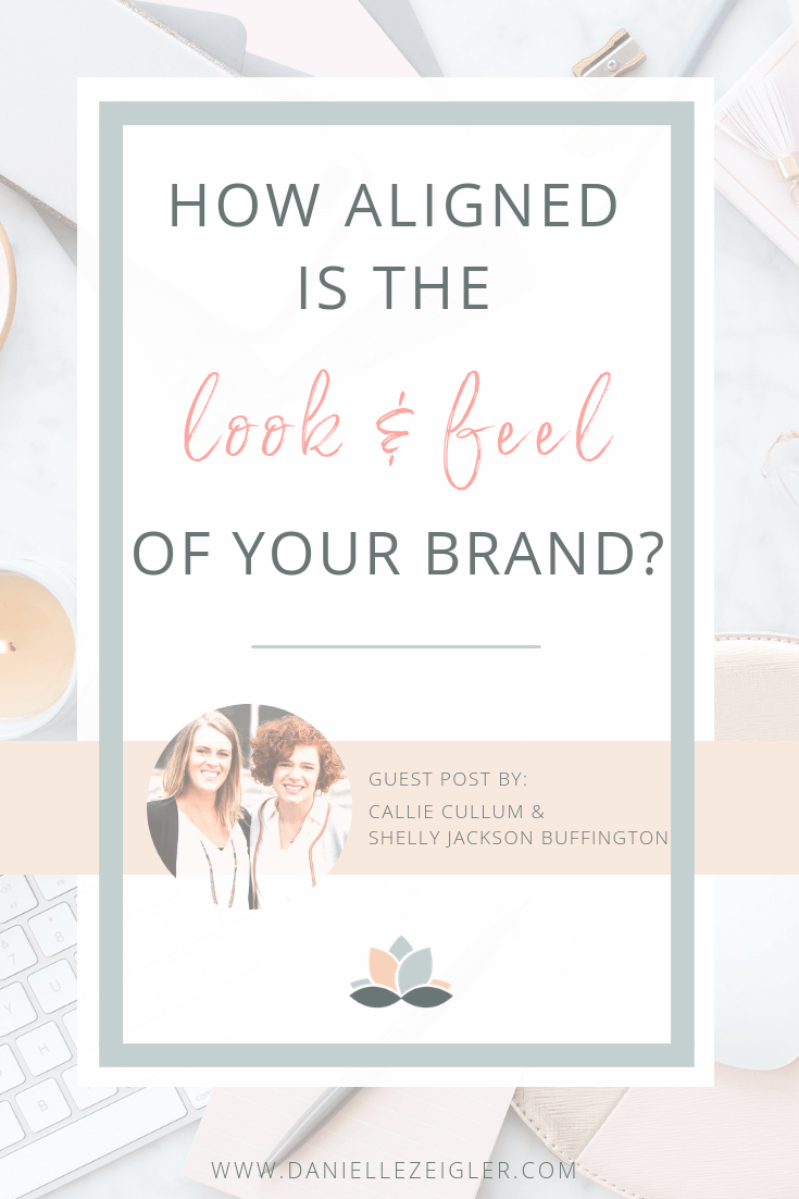 How aligned is the look and feel of your brand?