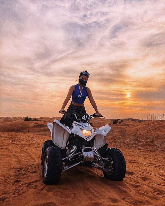 Lured into darkness, I finally see the light. . . . . . . . . #abudhabi #uae #dubai #atv #quadbike #travel #instatravel #traveldiaries #traveller #speed #adventure #emirates #etihad #desert #sanddunes #privatetravel #travelblog #dunes #instadaily #wanderlust #vacay #vacation #instaphoto #일상 #일상그램 #여행 #tourism #unitedarabemirates #myabudhabi #luxurytravel