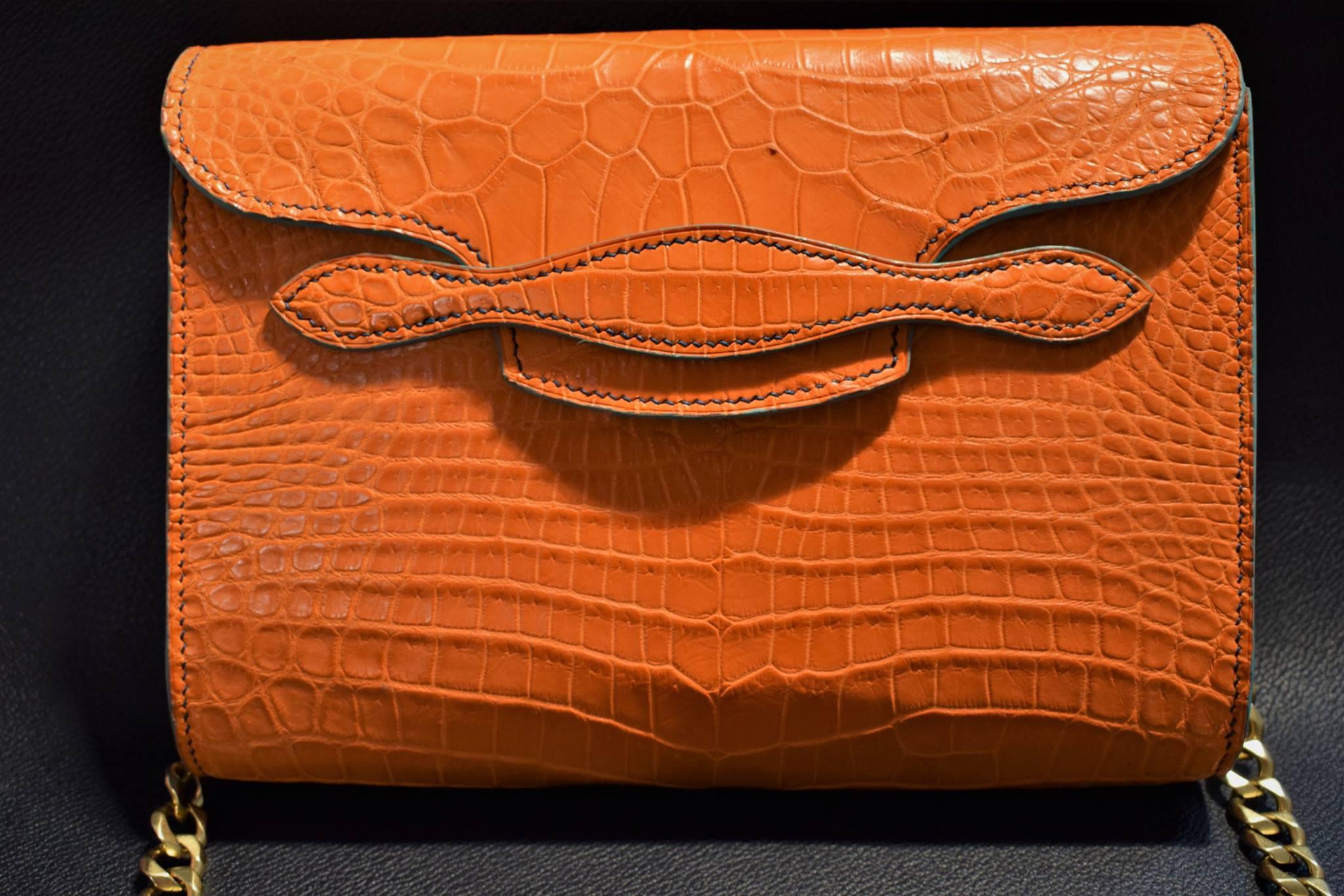 Custom Alligator Clutch