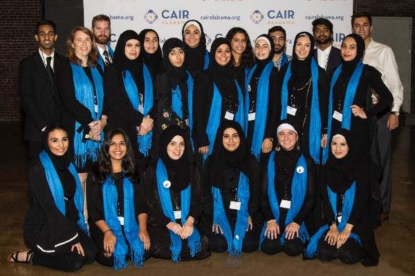 Interns and Volunteers at the 2nd Annual Banquet November 5, 2017