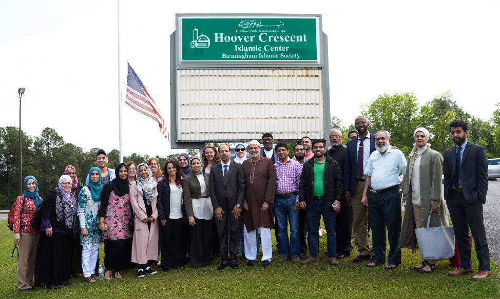 CAIR chapters from around the country visit Birmingham Islamic Society on the Civil Rights Tour