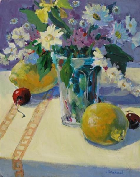 Lemons, Daisies and Cherries