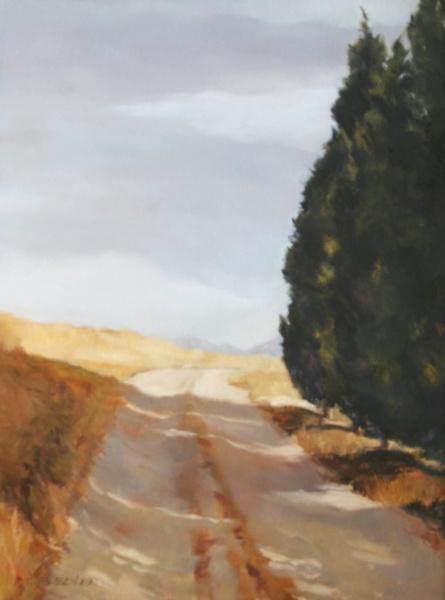 """Chianti Narrative   40 x 30"""", oil on canvas"""