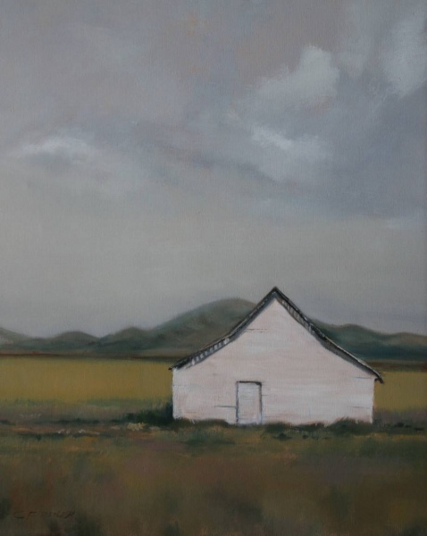 """Lonesome Dove   30 x 24"""", oil on canvas"""