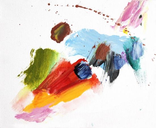 """Sunny Days are Here Again   12 x 9.5"""", acrylic on canvas"""