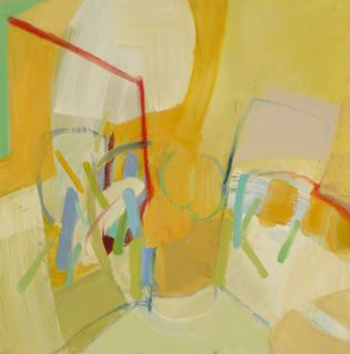 "Wetlands 5   24 x 24""  acrylic on canvas"