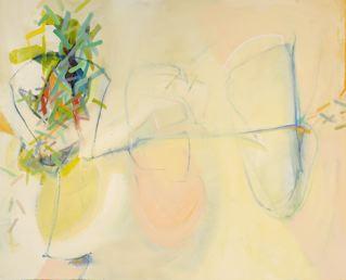 "Wetlands 3   32 x 40"" acrylic on canvas"
