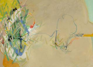 "Wetlands 2   32 x 44"" acrylic on canvas"