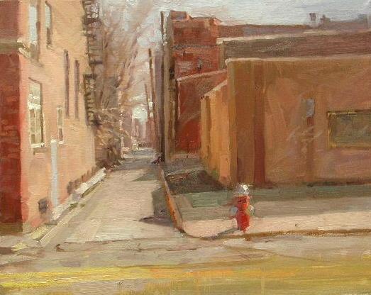 "Shortcut   16 x 20""  oil on canvas"