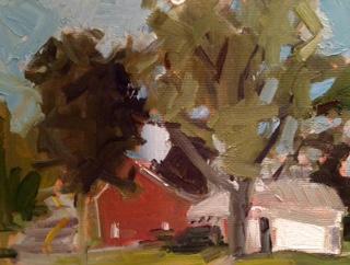 Family Tree IV   5 x 7, oil on panel.