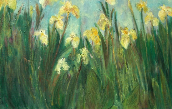 Yellow Iris SOLD