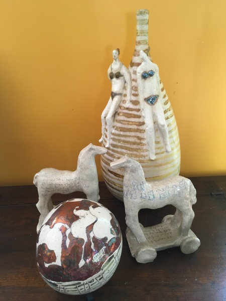 Paolo Staccioli, Luminous small ceramic sphere.jpg