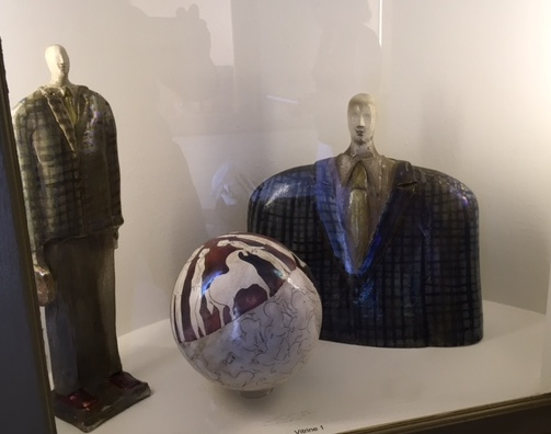 Paolo Staccioli, Traveler figure, small sphere.jpg
