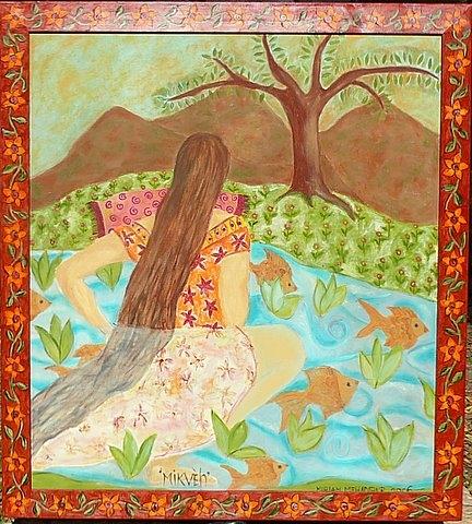 Miriam Mehadipur, Mikveh.jpg
