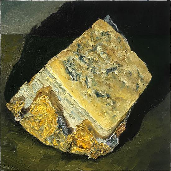 Cashel Blue, 10 x 10, oil on panel