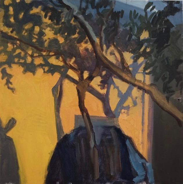 Morning Light, 16 x 16, oil on panel