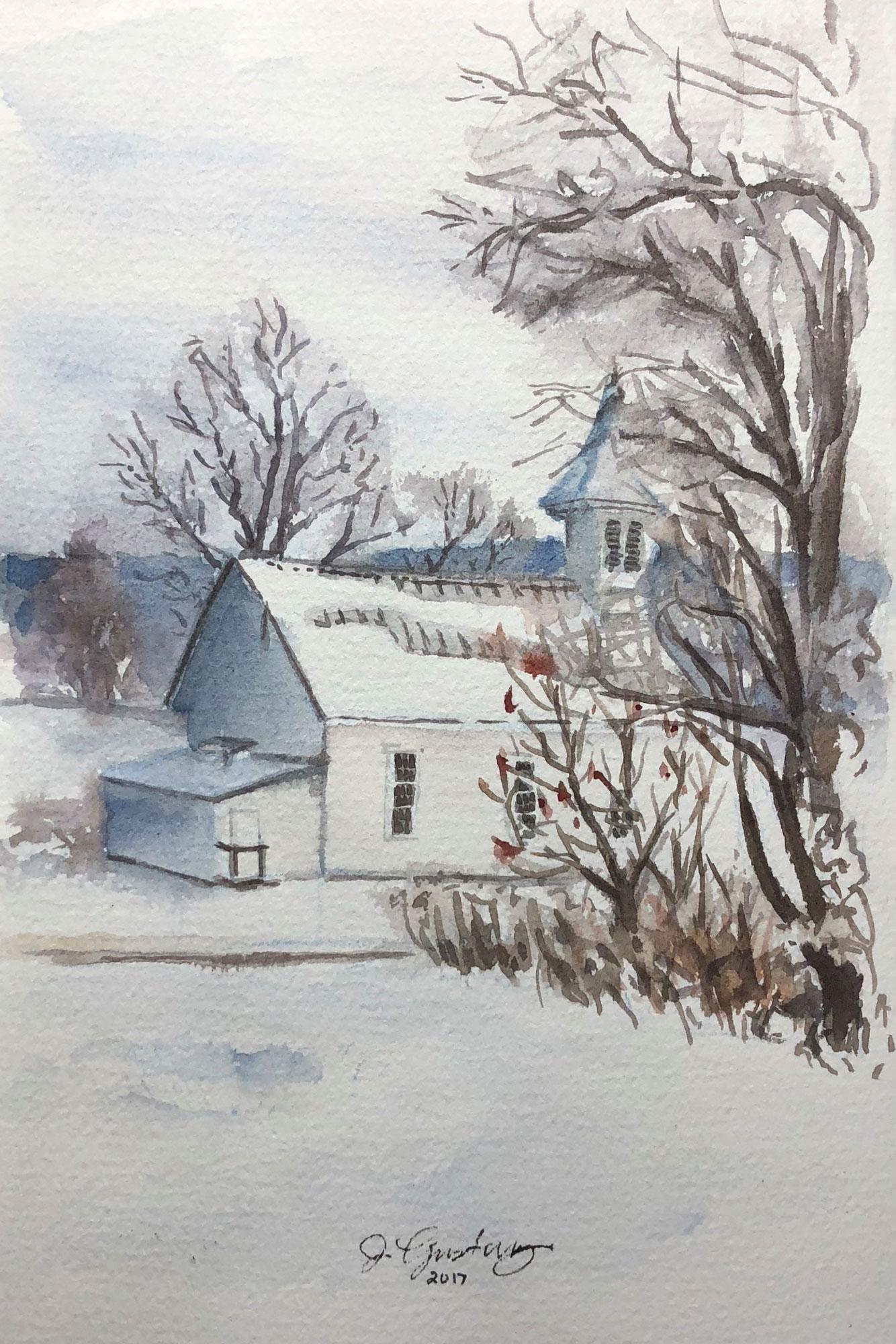 Heritage Center in Winter
