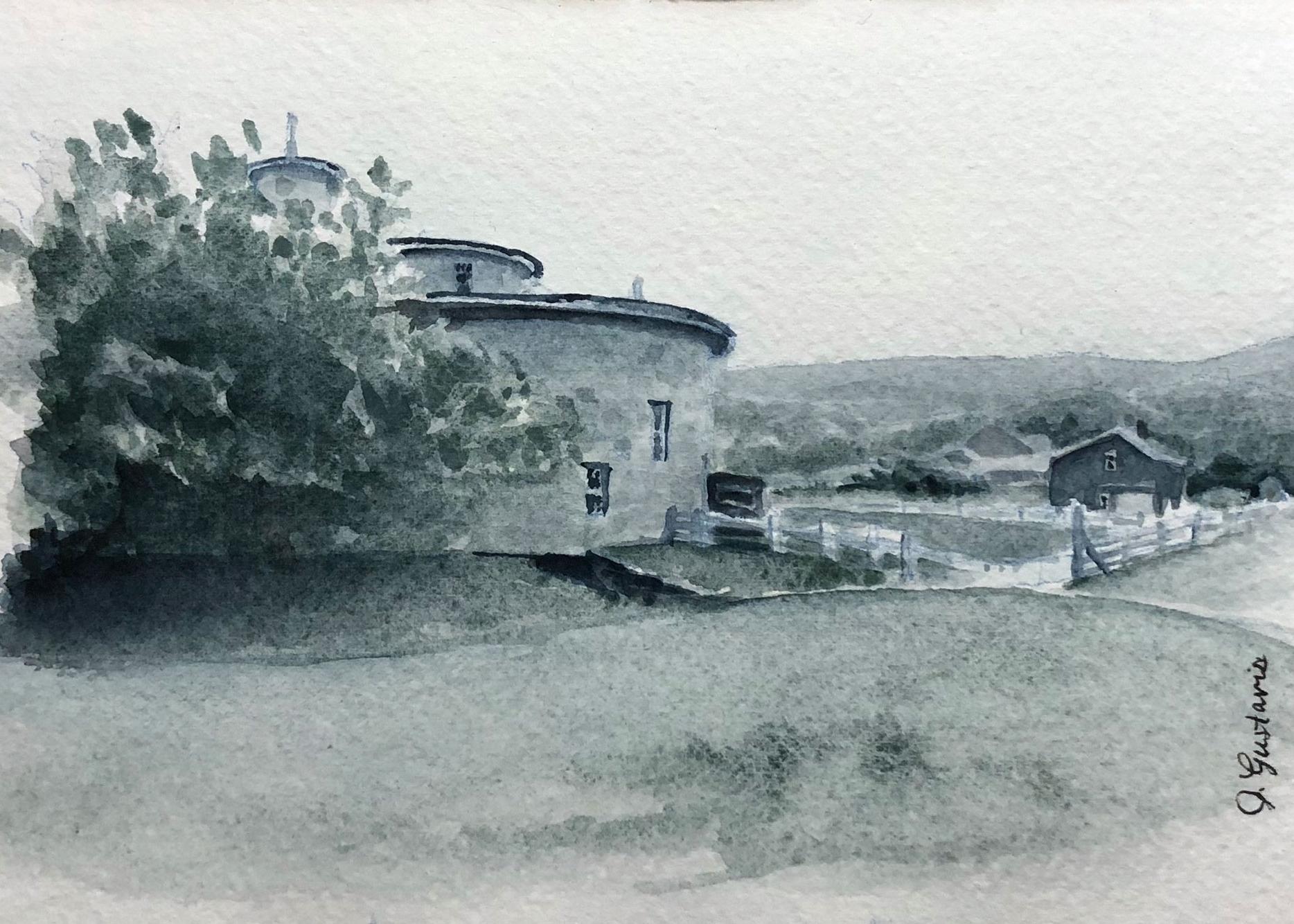 Tonal Study of the Round Barn at Hancock Shaker Village