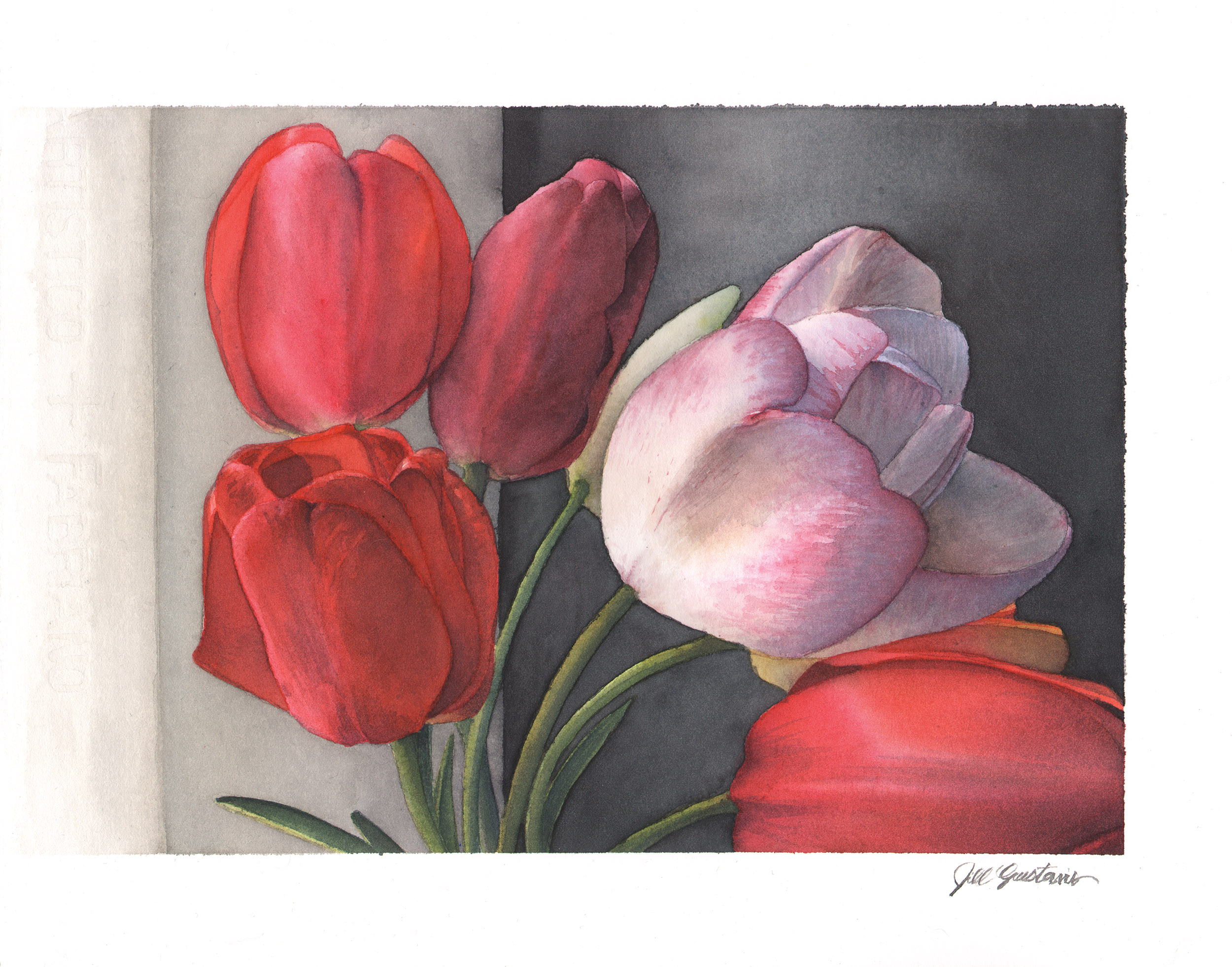 Tulips by the Window