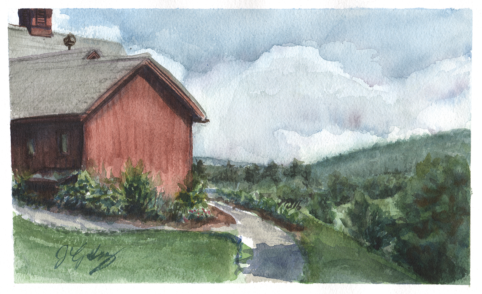 Norman Rockwell Studio Valley View - June 23, 2019