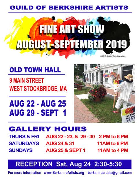 West Stockbridge Show Flyer