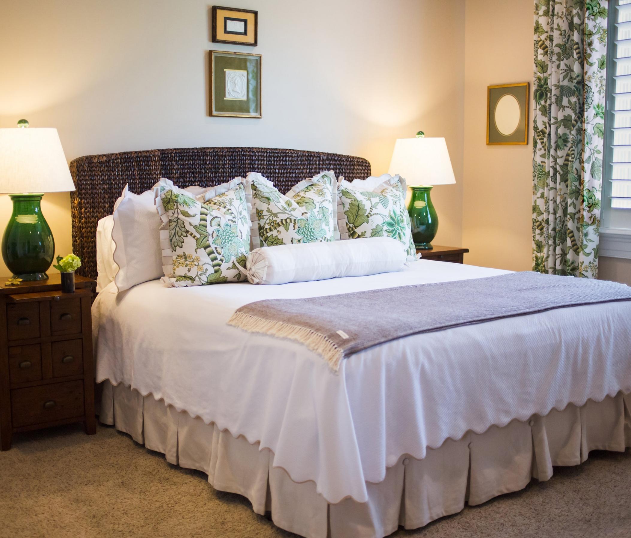 EllebrightDesigns.InteriorDesign.BedroomGreen