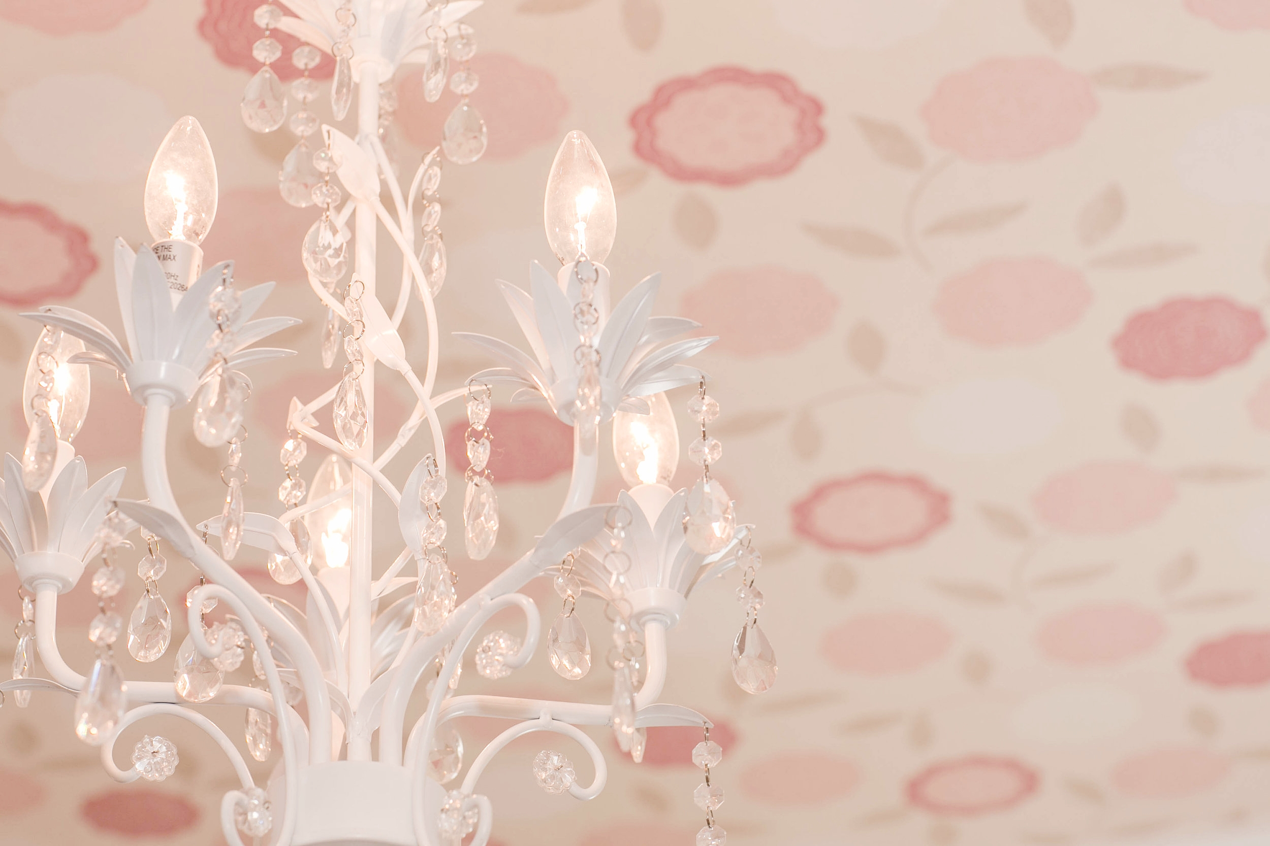 EllebrightDesigns.wallpaperceiling.pinkflowers.nursery