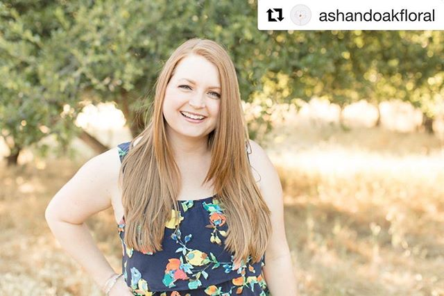 Featured over on @ashandoakfloral's blog this morning for their weekly women in business post! Go check it out!