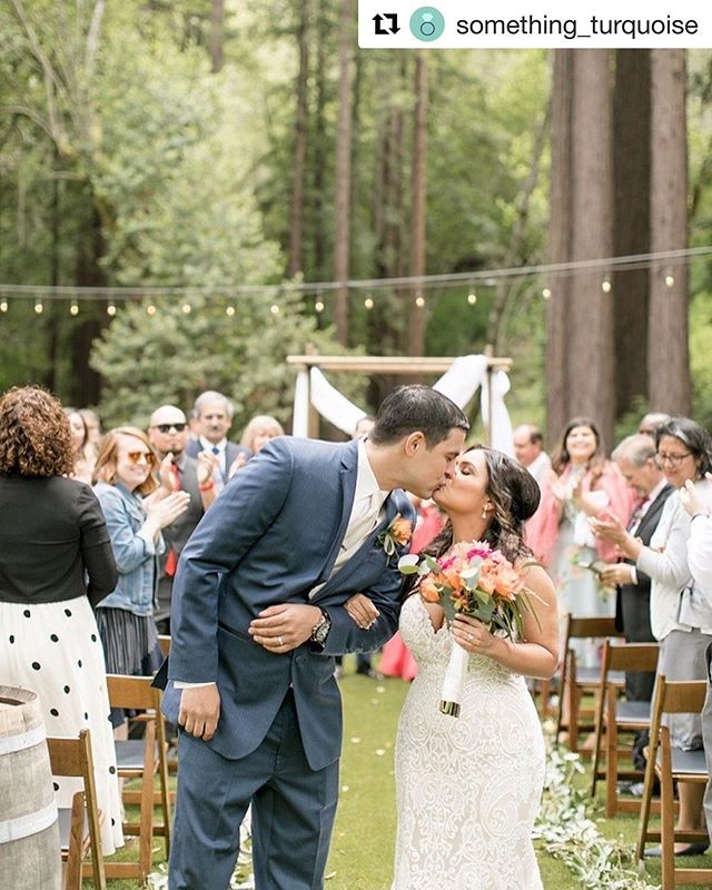 Just found out we were featured, along with these AMAZING vendors over on @something_turquoise! Go give them a follow and check it out!! ・・・ We CAN'T get enough of today's gorgeous wedding in the Santa Cruz mountains! Don't miss a snap from this dreamy wedding and couple!  Photography: @angelasuephotography // Venue: @fernwoodcellars // Wedding Planner + Designer: @cerasingleyevents // Rentals: @williamspartyrentals // Catering: @fire4hirecatering // Cake: @jenscakesofwillowglen // Music: @kolaboentertainment // Make-up: @lmakeupstudio // Hair: @beautybymarie_  #DIYWedding #HandmadeWedding #Love #Mountains #Redwoods #SantaCruz #SantaCruzWeddings