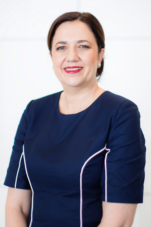 ANNASTACIA PALASZCZUK MP    PREMIER OF QUEENSLAND    MINISTER FOR TRADE