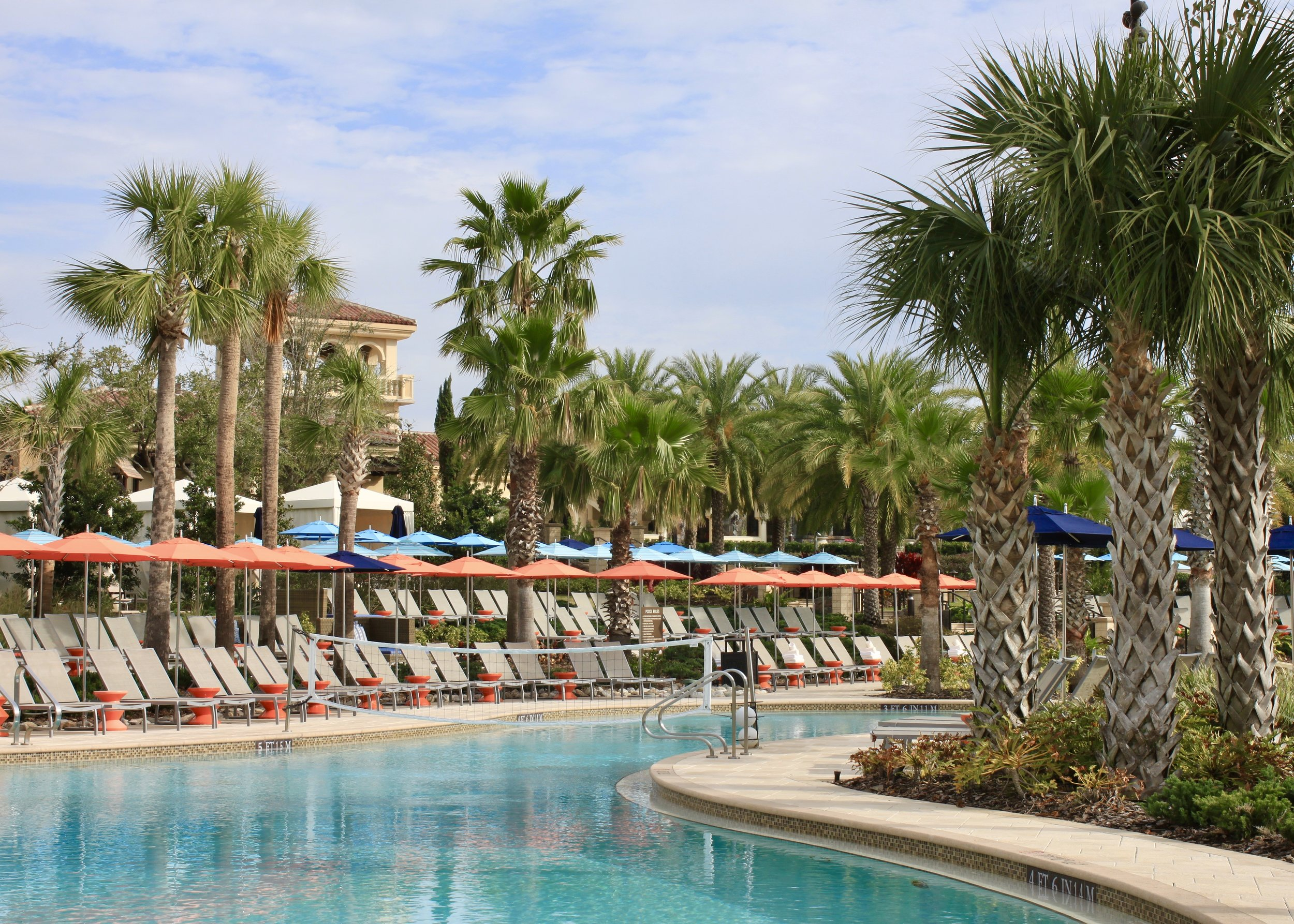 Just a small section of the expansive Family Pool (the cocktails here are fantastic!)