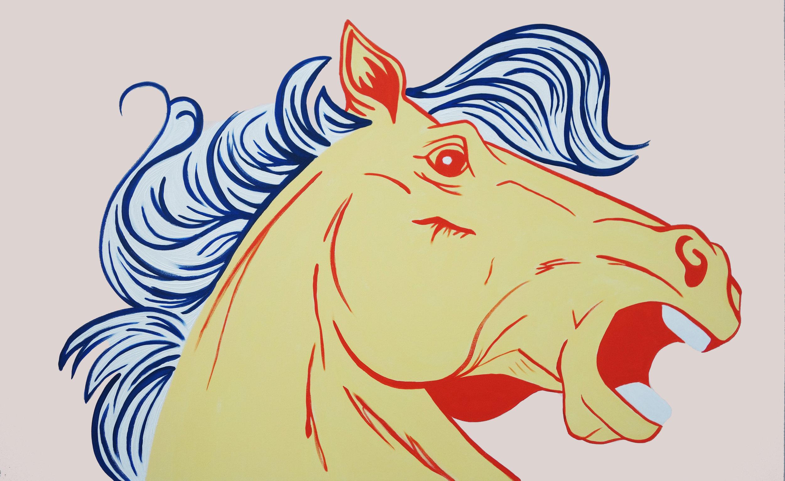 Yellow Pony