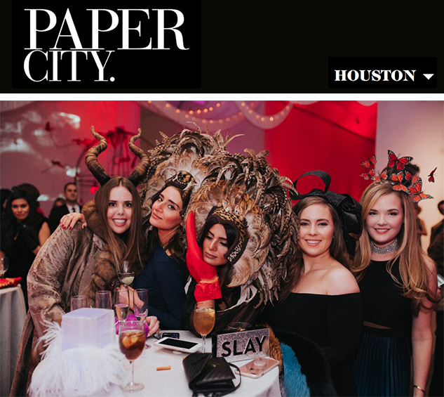 Paper City: Houston's Bright Young Things Enjoy a Truly Surreal Party - Menil Contemporaries Surreal Soirée