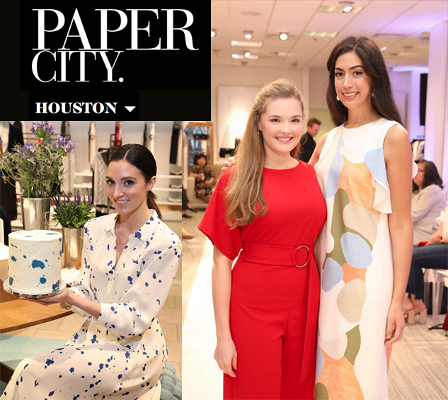 Paper City: Lafayette Loves Women Artists - For this premiere event celebrating women, art and fashion, Neiman Marcus joined forces with Instagram culinary art sensation Stephanie Nass and Lafayette 148 New York for an evening of spring fashions that saluted creative women of all artistic disciplines. For the gathering, social media star Nass, aka Chefanie, created a collection of eye-popping, colorful cakes.