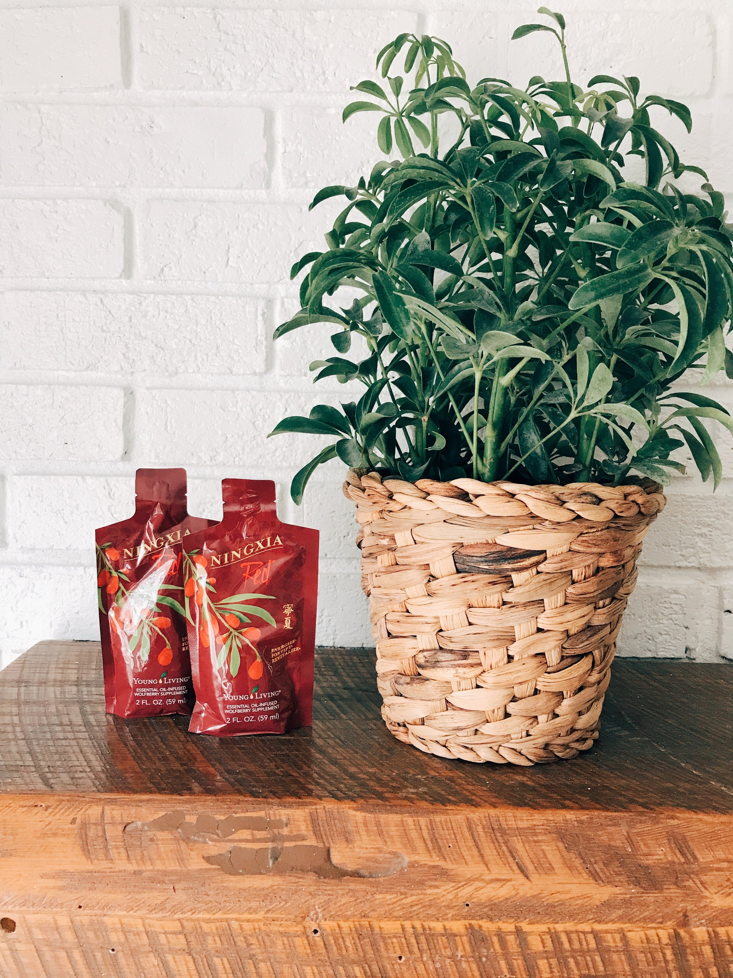 Have you tried Ningxia Red yet? It is packed with antioxidants and so many fruits and veggies! It would be impossible to eat this on your own.