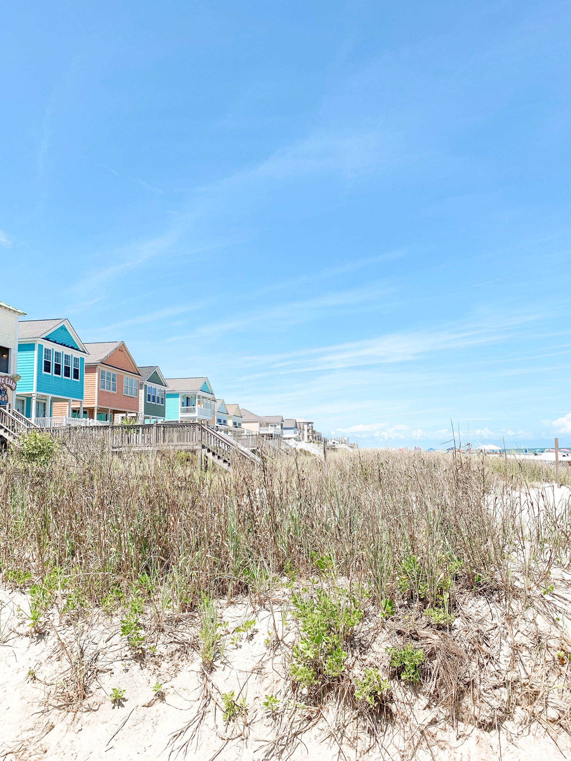 Surfside Beach, SC oceanfront homes