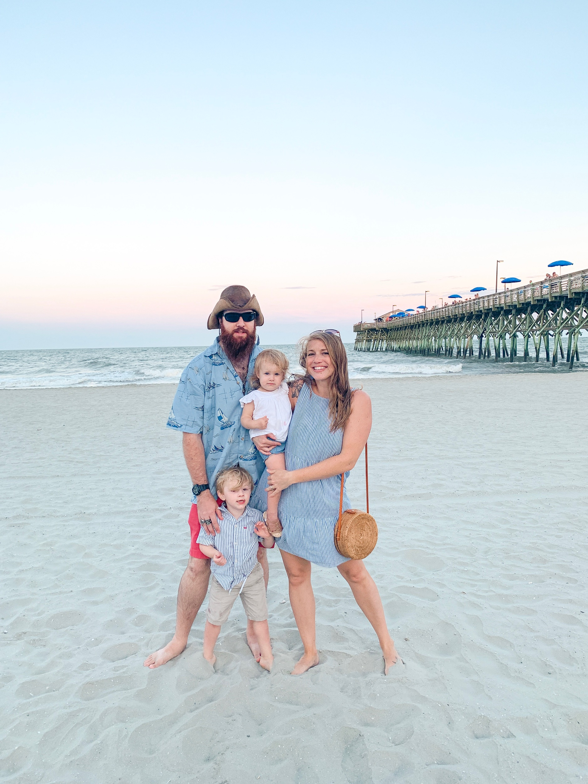 If you're looking for a good family-friendly beach in the south, Garden City, SC was a blast!!