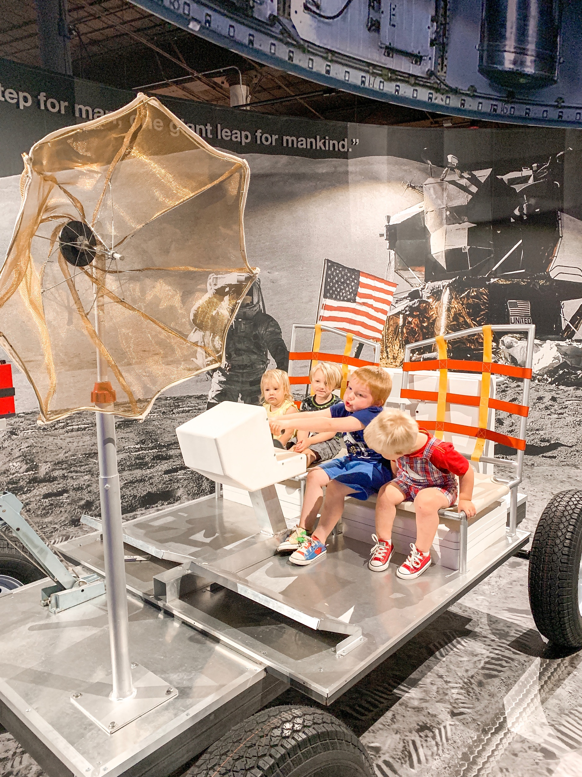 Meeting friends at the SC State Museum was a fun way to spend the summer and celebrate Space Week!