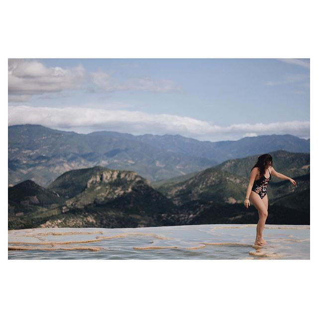 Nature's best infinity pool. Photo by my all time favorite @oaxacking