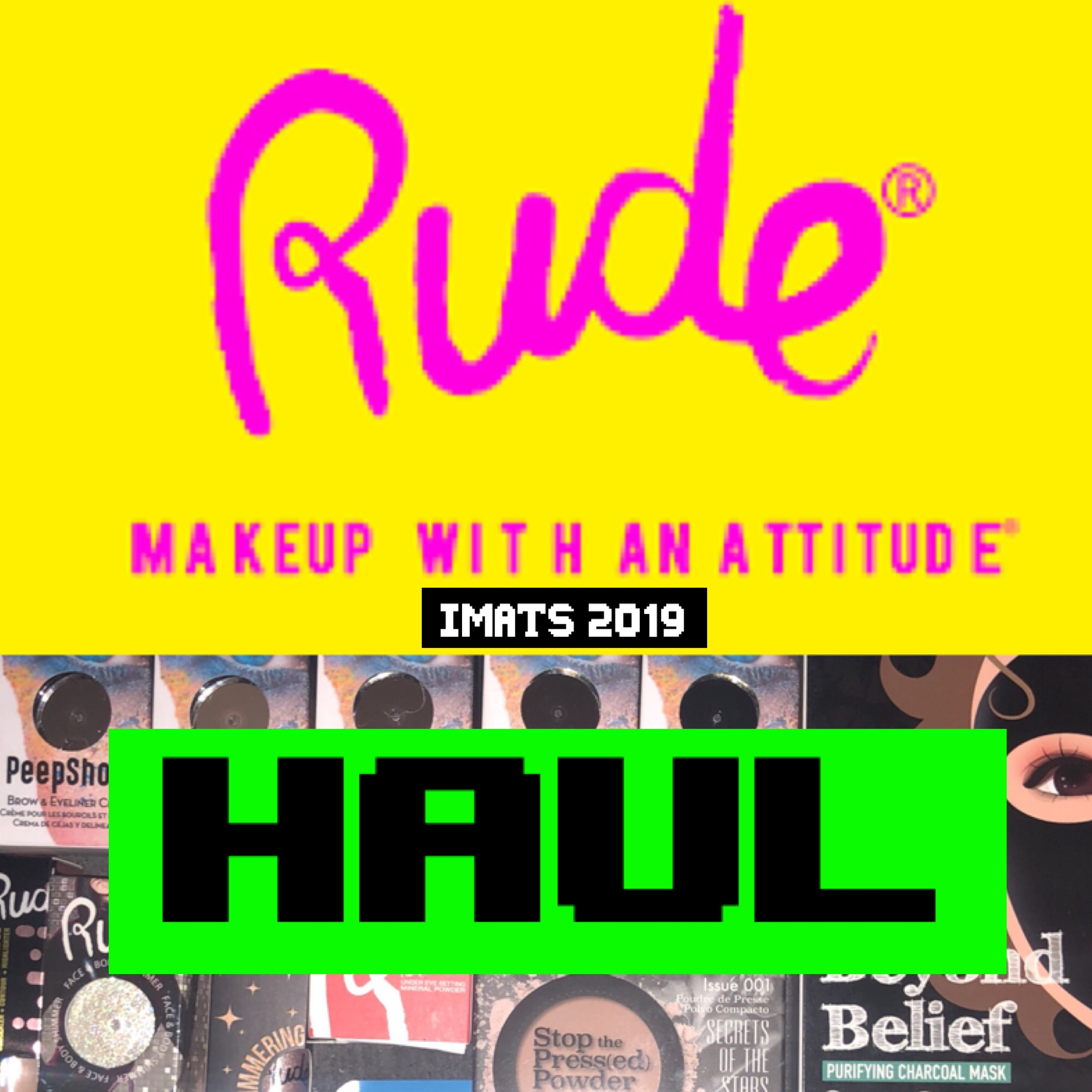 HAUL: Rude Cosmetics
