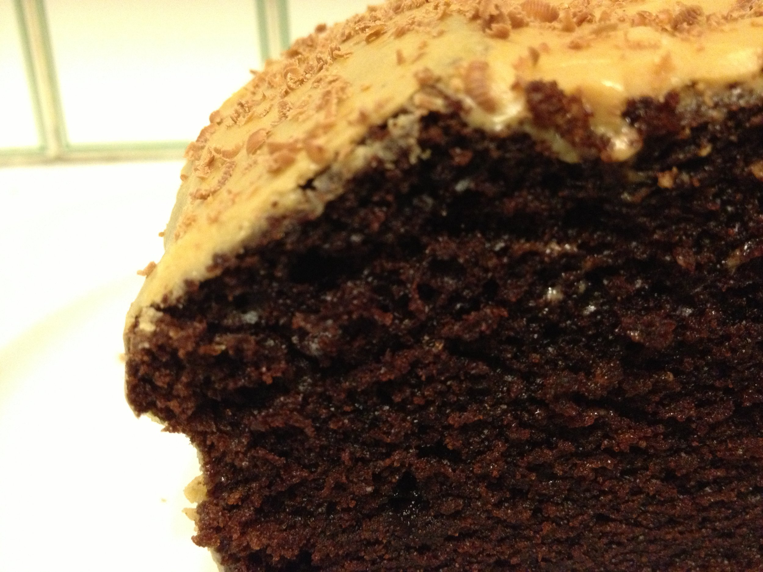 Moist and fluffy spice cake