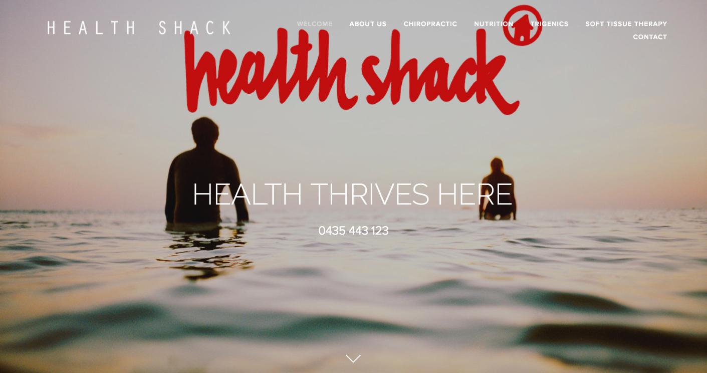 Health Shack Chiropractor - Massage Therapy - Nutrition  www.healthshack.com.au